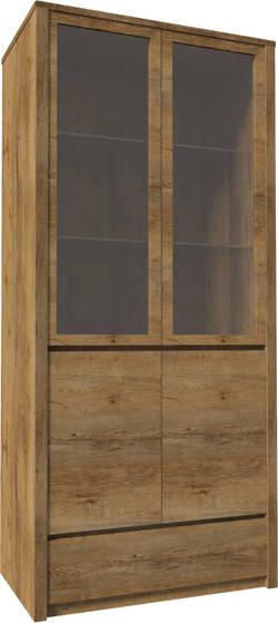 Montana W2D Plaukts ar stiklu / vitrīna