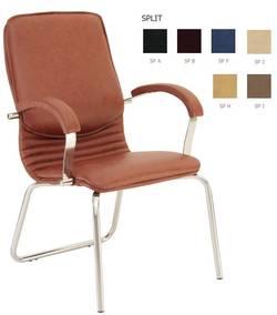 Nova steel CFA/LB chrome Biroja krēsls / piederumi