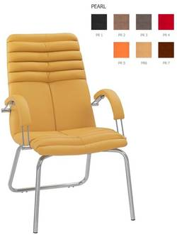 Galaxy steel CFA/LB chrome Biroja krēsls / piederumi