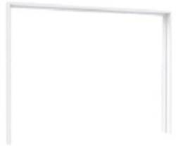 Starlet White DMRZ01 Plauktu / skapju piederumi