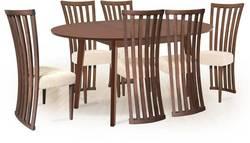 Aroma/Monza 6 Ēdamistabas galds ar krēsliem
