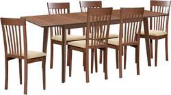 Lavender/Aroma 6 Ēdamistabas galds ar krēsliem