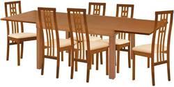 Torito/Rosalia Ēdamistabas galds ar krēsliem