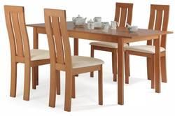 Edison Ēdamistabas galds ar krēsliem