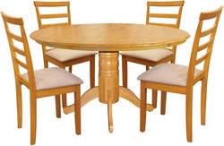 Sabrina Karlton Ēdamistabas galds ar krēsliem