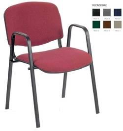 Iso W black Biroja krēsls / piederumi