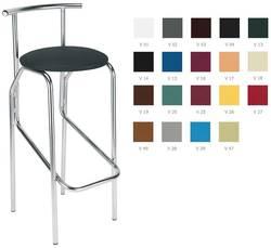 Jola chrome Bāra krēsls / hocker