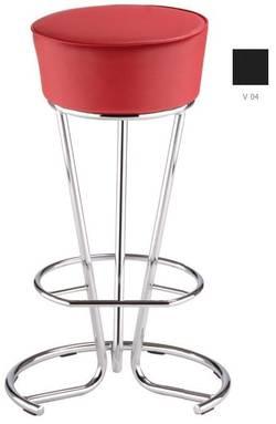 Pinacolada hoker chrome Bāra krēsls / hocker