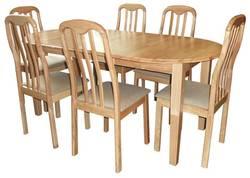 Tokio (+6 Susan chair) Ēdamistabas galds ar krēsliem