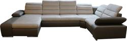 Korfu P II Stūra dīvāns U veida