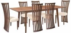 Lavender/Monza 6 Ēdamistabas galds ar krēsliem