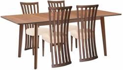 Lavender/Monza Ēdamistabas galds ar krēsliem