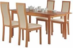 Edison/Torito Ēdamistabas galds ar krēsliem