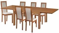 Torito Ēdamistabas galds ar krēsliem