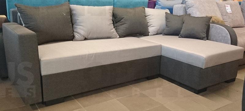 Karol P Stūra dīvāns L veida