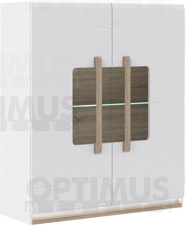 Attention ATNV52B (IZ12+IZLED11-1137) Plaukts ar stiklu / vitrīna