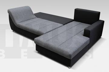 Seneto DL Stūra dīvāns L veida