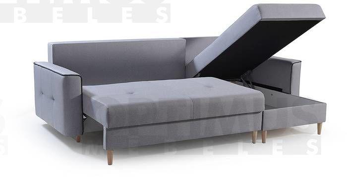 Vincenza Stūra dīvāns L veida