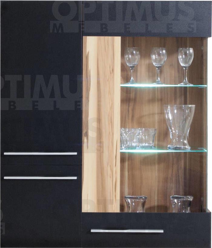 Monsun MN9 Plaukts ar stiklu / vitrīna