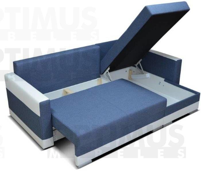 Glam Stūra dīvāns Nurgadiivan L kuju