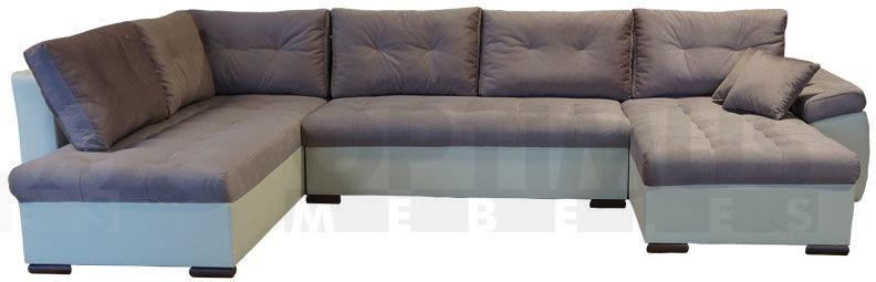 Nikos 3 Stūra dīvāns U veida