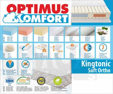 160*200 Kingtonic Soft Ortho Madrats