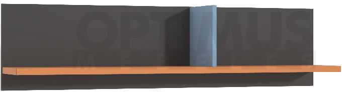 Colors LORB01 Piekarināms plaukts / Sienas skapis