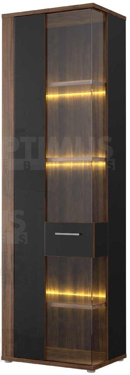 Lombardo LBDV711L Plaukts ar stiklu / vitrīna