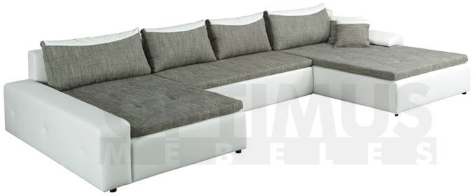 London MAX DL Stūra dīvāns U veida