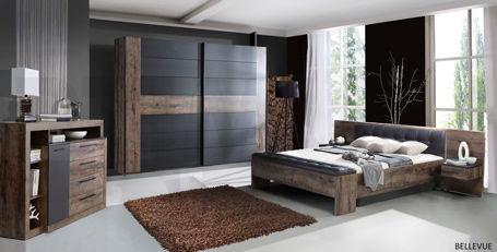 Bellevue Guļamistabas iekārta