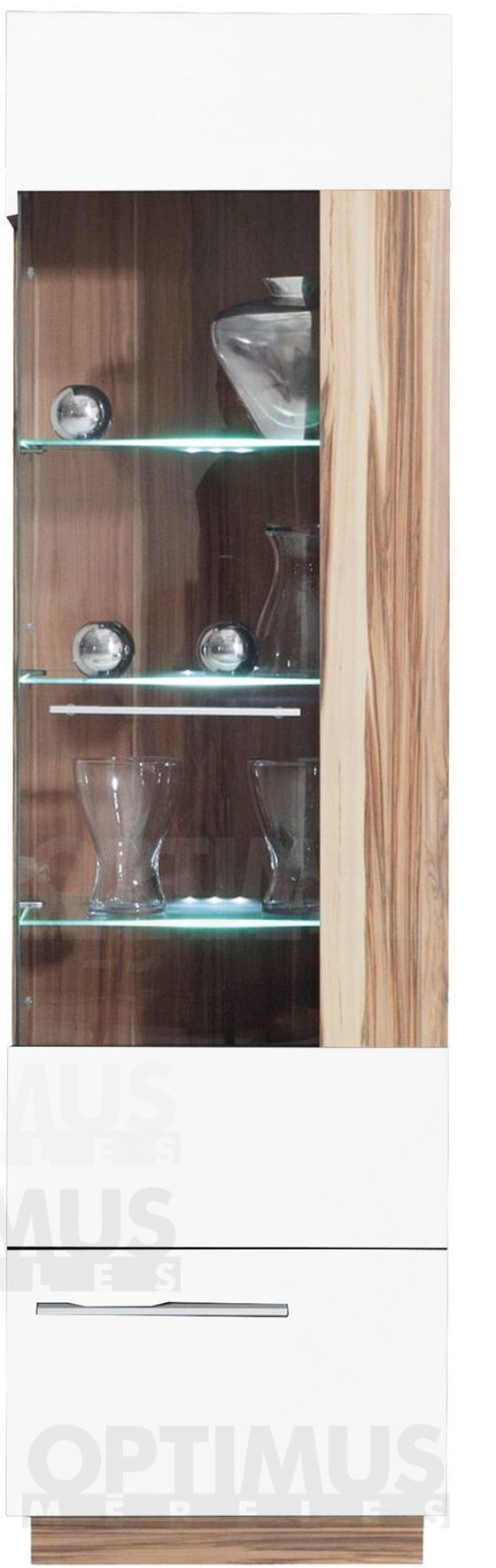 Monsun MN2P Plaukts ar stiklu / vitrīna