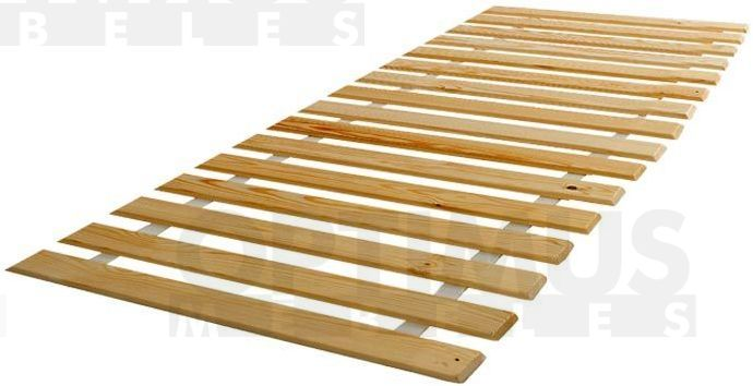 90x200cm M Gultas lamieļi / matrača pamatne