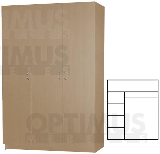 Optimus DS3V, Drēbju skapis
