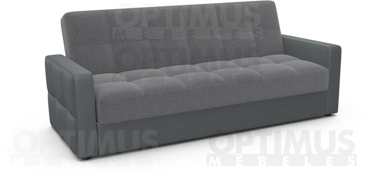 Dīvāns-gulta R1H SoloGrey/Hilton20