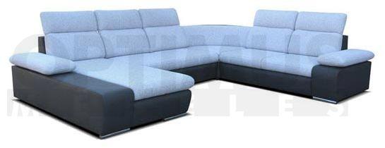 Odessa P III Stūra dīvāns U veida