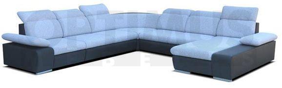 Odessa P IV Stūra dīvāns U veida