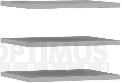 Bellevue DMRD12 Plauktu / skapju piederumi