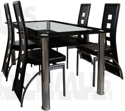 Morisete 030 (+4 Cezar chair) Ēdamistabas galds ar krēsliem