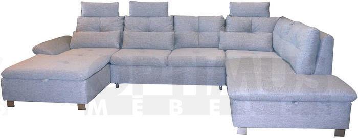 Madeira B Stūra dīvāns U veida