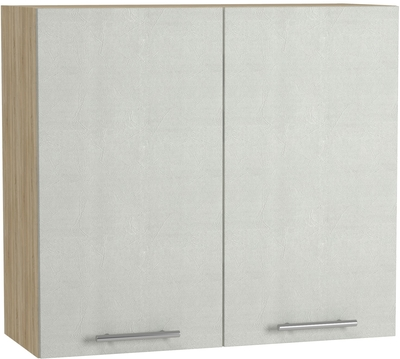 BlanKit G80 Sonoma+Concrete cream.353 Köögikapp