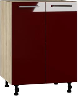 BlanKit D60 Sonoma+Bordo.G410 Köögikapp