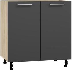 BlanKit D80 Sonoma+Graphite.M702 Köögikapp