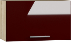 BlanKit G60.h36 Sonoma+Bordo.G410 Köögikapp