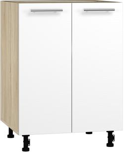 BlanKit D60 Sonoma+OakWhite.266 Köögikapp