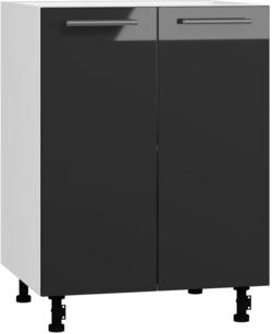 BlanKit D60 White+Graphite.G399 Köögikapp