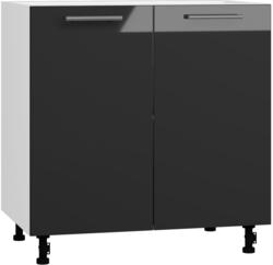 BlanKit D80 White+Graphite.G399 Köögikapp