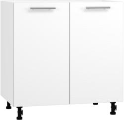 BlanKit D80 White+OakWhite.266 Köögikapp