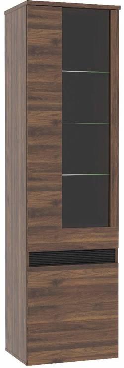 Fuli FULV711L Skapis ar stikla durvīm / Vitrīna Vitriin