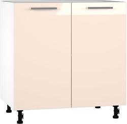BlanKit D80 White+Beige.G406 Köögikapp
