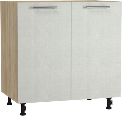 BlanKit D80 Sonoma+Concrete cream.353 Köögikapp